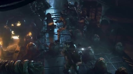 Aliens: Colonial Marines - Contact Trailer ( Extended Cut )