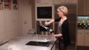 How Not to saber a bottle of champagne