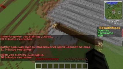 Minecraft Мини-игри #2 - Hungergames със Вико