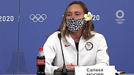 Japan: US surfer Carissa Moore reflects on 'monumental last couple of days' after winning first gold