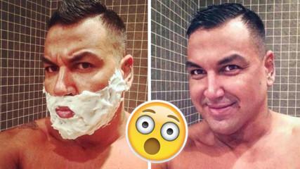 Азис се обръсна! Най-известната BG брада е в миналото!