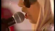 Лейди Гага - Just Dance На живо on T4 (18 01 09)