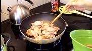 Как се готвят пилешки крилца с кока-кола и соев сос