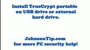 Install Truecrypt portable