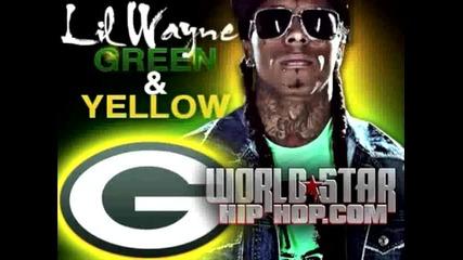 Lil Wayne - Green & Yellow (official Video Superbowl Version) +lyrics Green Bay Packers!