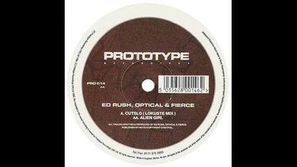 Ed Rush , Optical & Fierce - Alien Girl