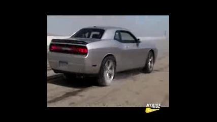 2008 Dodge Challenger Burnout