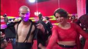 Dancing stars - Сани и Симеон за емоциите след изпълнението си (22.04.2014)