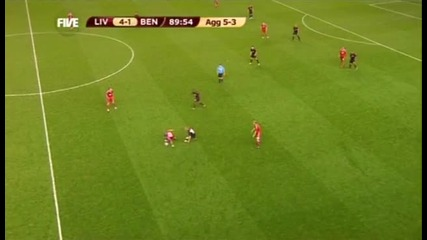 Liverpool vs Benfica Ynwa