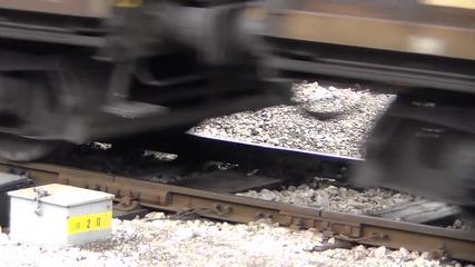 43 514 с товарен влак