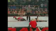 Raw - Triple H Vs. Shelton Benjamin