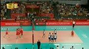 Куба победи България с 3:0 на Световното по Волейбол 13.09.2014