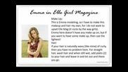 Кратък Kлип Със Статии За Ема Уотсън