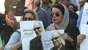 Iran: Thousands mourn iconic director Abbas Kiarostami in Tehran in Tehran