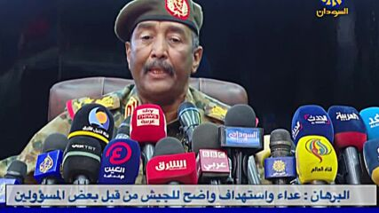 Sudan: PM Hamdok at army chief home 'lest he is harmed' - al-Burhan