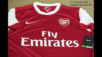 Arsenal New Home Kit 2010 - 2011 Hd