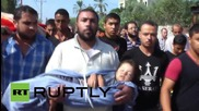 State of Palestine: Mother and daughter killed in IDF airstrike taken to mosque for burial *GRAPHIC*
