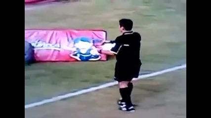 Футболист уби птица по време на мач - Трагедия!!!