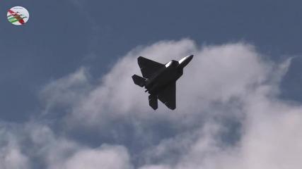 F - 22 Raptor доказателството за превъзходство над руските изтребители-маневреност и мощ