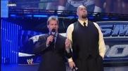 Smackdown 2009/07/31 Chris Jericho & Big Show говорят със Cryme Tyme