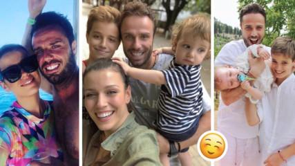 Волейболният национал Теди Салпаров трогна нета с признание за семейството си