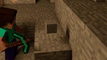 Eto tova se sluchva kogato kopaem blokove v Minecraft