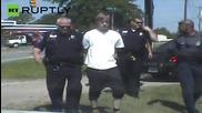 Dascham Footage of Police Celebrating Dylann Roof Arrest