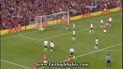 Manchester United 3-0 Tottenham Highlights 22/08/2011
