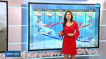 Прогноза за времето (03.01.2019 - централна)