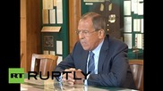Russia: Lavrov criticizes UN's position on MH17 investigation