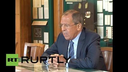 Russia: Lavrov criticizes UN's position on MH17 investigation