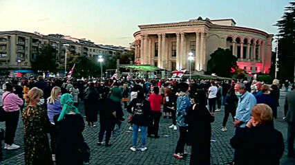 Georgia: Thousands attend pre-election rallies in Tbilisi and Kutaisi