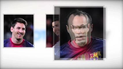Меси, Роналдо или Иниеста ! Кой трябва да спечели златната топка ?