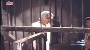 Kadar Khan, Shakti Kapoor in Jail- Baap Numbri Beta Dus Numbri Scene 5