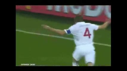 Англия - Сащ 1:1 Стивън Джерард Гол World Cup 2010