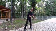 Жонгльор с извънземни умения!
