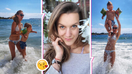 Дария Симеонова в перфектна форма, очарова със снимка на малкия Макс