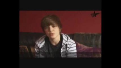 Justin Bieber speaks German, French Spanish