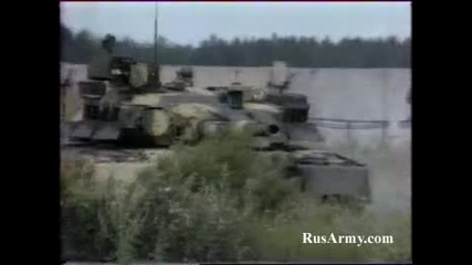 Моща на руските танкове!