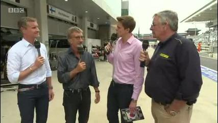 Формула1 - Корея 2012 - Квалификация - Build Up - Част 2 [ 2 ] - Bbc