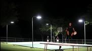 Епична Битка .. баскетбол & фризби ^невероятни Умения^