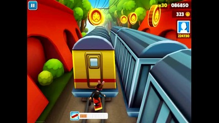 Subway Surfers - Gameplay - Бъг