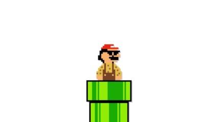Pen Pineapple Apple Pen Mario Parody