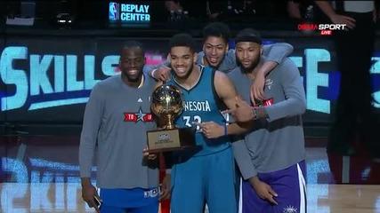 Звездният Уикенд в НБА: Най-странният победител в Конкурса за Умения