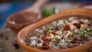 Мексиканска супа с боб | Мексиканска фиеста с Питър Курувита | 24Kitchen Bulgaria