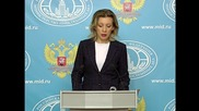 Russia: FM's Zakharova criticises intnl response to Palmyra's liberation