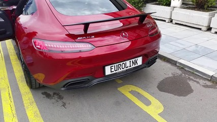 Първият AMG GT S в България! Як Звук!