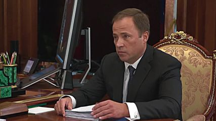 Russia: Putin briefed by Roscosmos chief on progress in Russia's space industry