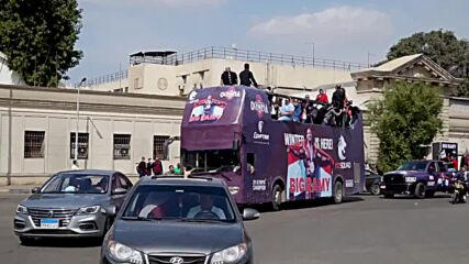 Egypt: Mr Olympia winner 'Big Ramy' receives hero's welcome in Cairo
