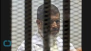 U.S. Calls Death Sentence for Former Egyptian President 'Unjust'